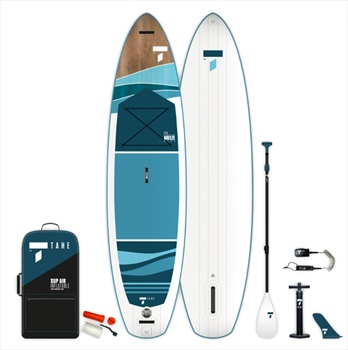Tahe Breeze Wing ISUP Paddleboard Package, 11' Blue Brown 2021