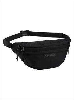 Burton Hip Pack Cross Body Bum Bag Over Shoulder, 3L Ballistic Black