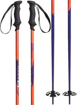Roxy Shima Ski Poles, 125cm Red