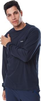 Filson Ranger Solid Pocket Long Sleeve T-Shirt, XL Harbor Blue