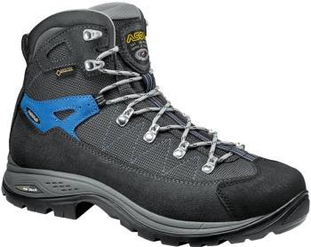 Asolo Finder GV Gore-Tex Hiking Boots, UK 8.5 Graphite/Gun Metal/Blue