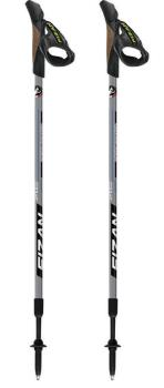 Fizan NW Speed Adjustable Nordic Walking Poles, 75-125cm Black