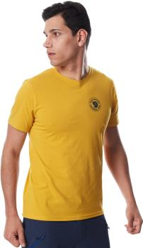 Fjallraven 1960 Logo Short Sleeve Graphic T-Shirt, L Ochre