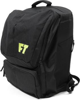 Full Tilt Ski Boot Bag Backpack, 37L Black/Green