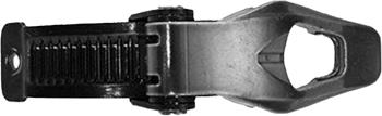 Full Tilt Ski Boot Lower Buckle Kit Spare Part, Right Black