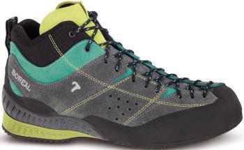 Boreal Flyers Mid Approach/Walking Shoe, UK 5 Grey/Lime