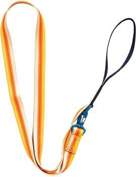 United By Blue Woven Dog Leash Webbing Pet Lead, 6' Tangerine