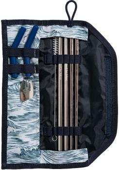 United By Blue Utensil Kit Eco-Friendly Travel Cutlery Set River Blue