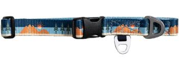 United By Blue Woven Dog Collar Webbing Pet Collar S Earth Day