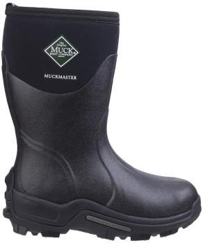 Muck Boot Muckmaster Mid Wellington Boot, UK 13 Black