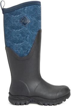 Muck Boot Arctic Sport II Tall Women's Wellies, UK 5 Black/Blue