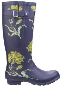 Cotswold Windsor Print Women's Wellington Boots, UK 3 Flower