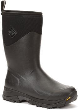 Muck Boot Arctic Ice Mid Wellington Boots, UK 8 Black