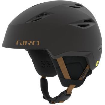 Giro Grid MIPS Ski/Snowboard Helmet, M Metallic Coal/Tan