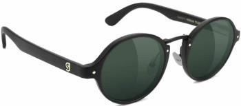Glassy Sunhaters P-Rod Premium Green Sunglasses, M Matte Black
