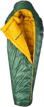 Patizon Dpro 290 Ultralight Down Sleeping Bag, L Green LH Zip