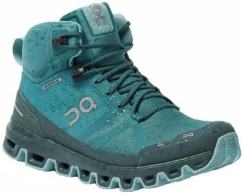 On Cloudrock Waterproof Women's Hiking Boots, UK 4.5 Storm/Wash