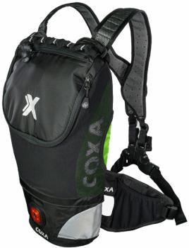 Coxa Carry M10 Backpack Dayhiking, Skiing, Cycling Pack, Green Black