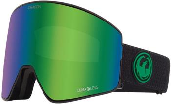 Dragon PXV2 LumaLens Green Ion Snowboard/Ski Goggles, M/L Split