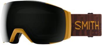 Smith I/O MAG XL CP Sun Black Snowboard/Ski Goggles, L Amber Textile