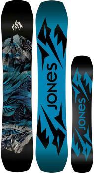 Jones Mountain Twin Hybrid Camber Snowboard, 154cm 2022