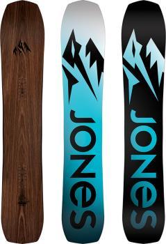 Jones Flagship Hybrid Camber Snowboard, 162cm Wide 2022