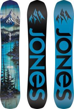 Jones Frontier Hybrid Camber Snowboard, 162cm 2021