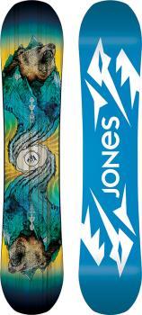 Jones Prodigy Youth Hybrid Camber Snowboard, 135cm 2022