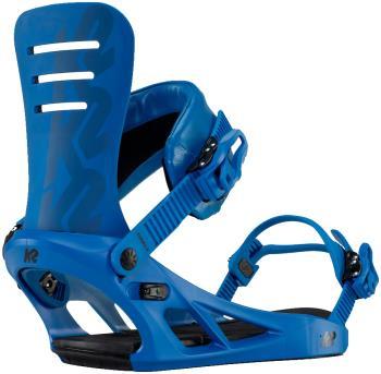 K2 Formula Snowboard Bindings, L Blue 2021