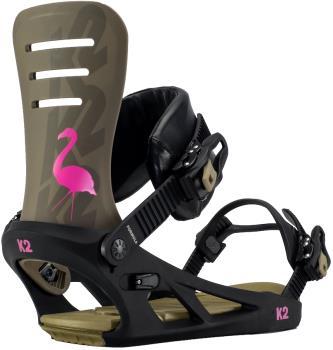 K2 Formula Snowboard Bindings, XL Flamingo 2021