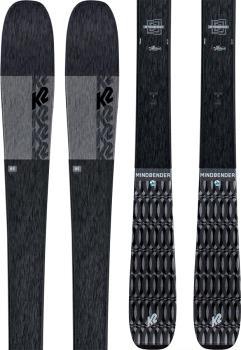 K2 Mindbender 85 Alliance Women's Skis, 156cm Black, Ski Only 2021