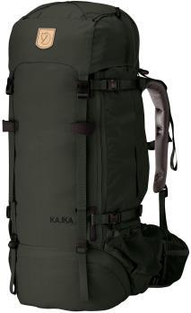 Fjallraven Kajka 75 Trekking Backpack, 75L Forest Green