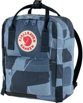 Fjallraven Kanken Art Mini Backpack/Kids' Rucksack 7L Ocean Deep