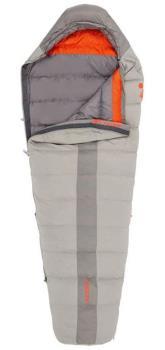 Kelty Cosmic 40F/4°C Lightweight Down Sleeping Bag, Long RH Zip