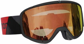 Salomon Four Seven Snowboard/Ski Goggles M/L, Black, PHOTO AW Red