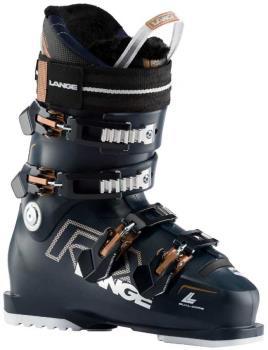 Lange RX 90 W Women's Ski Boots, 24/24.5 Blue/Copper 2021