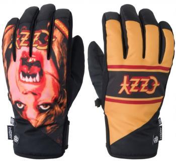 686 Ruckus Pipe Ski/Snowboard Gloves, M Ozzy Osbourne