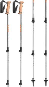Leki Legacy Lite Antishock Adjustable Trekking Poles, 100-135cm