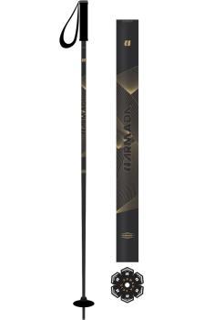 Armada Adult Unisex Legion Pair Of Ski Poles, 120cm Gold