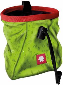Ocun Lucky Rock Climbing Chalk Bag, One Size Lime Green