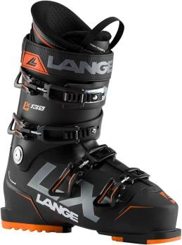 Lange LX 130 Ski Boots, 30/30.5 Black/Orange 2021