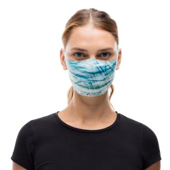 Buff Filter Protective Reusable Face Mask, One Size Makrana Blue
