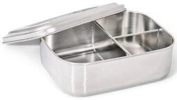 Elephant Box Medium Trio Divided Lunchbox Food Container, 800ml