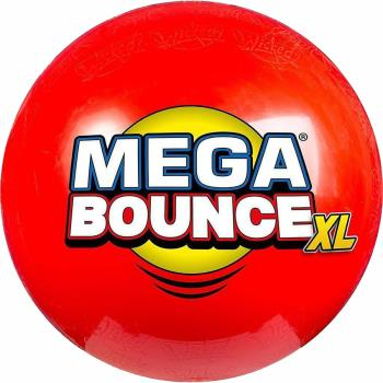 Wicked Mega Bounce XL Inflatable Bouncing Ball, 2.5M Red
