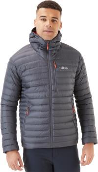 Rab Microlight Alpine Hooded Insulated Down Jacket, S Graphene
