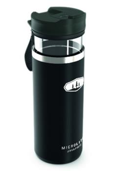 GSI Outdoors Microlite Javapress French Press Travel Mug, Black