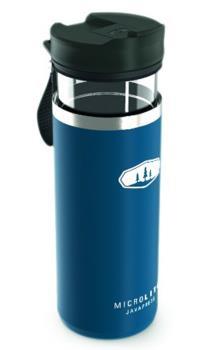GSI Outdoors Microlite Javapress French Press Travel Mug, Blue