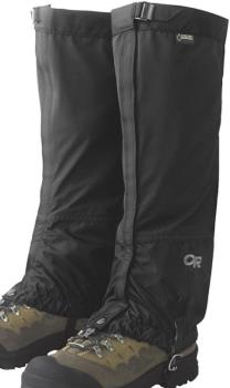 Outdoor Research Cascadia Gore-Tex Boot Gaiters, M Black