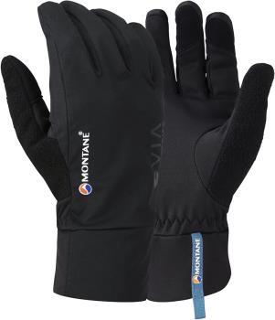Montane VIA Trail Softshell Trail Running Glove, XL Black