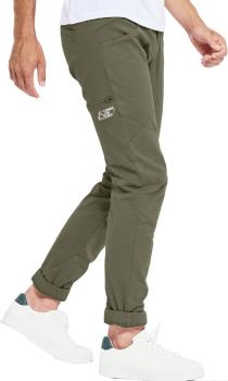 Looking For Wild Adult Unisex Fitz Roy Technical Climbing Pants, L Winter Moss